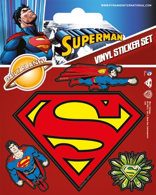 Superman Autocolant