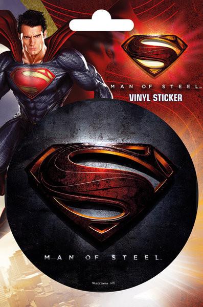 superman man of steel logo autocolant europosters ro
