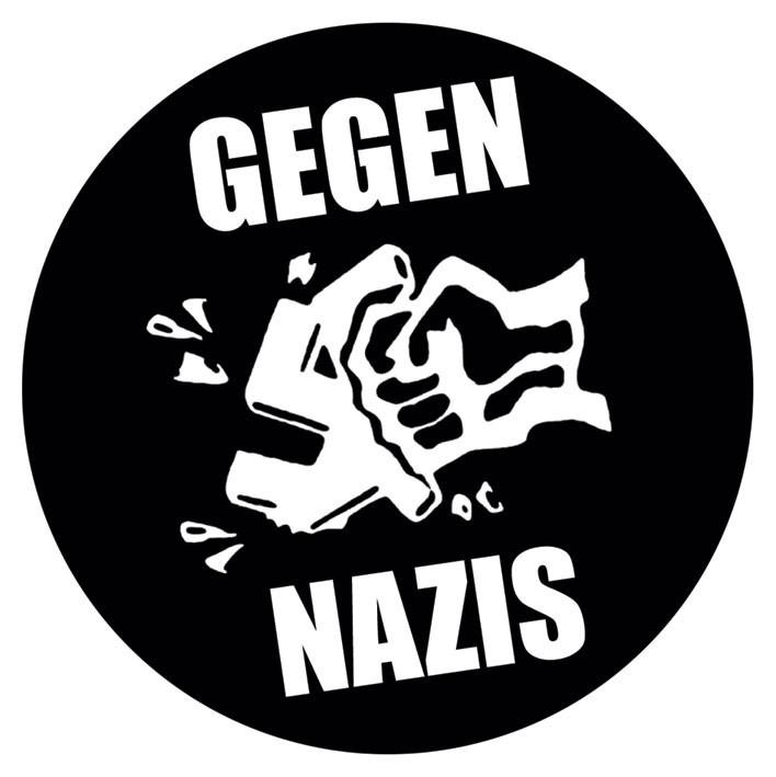 GEGEN NAZIS Autocollant