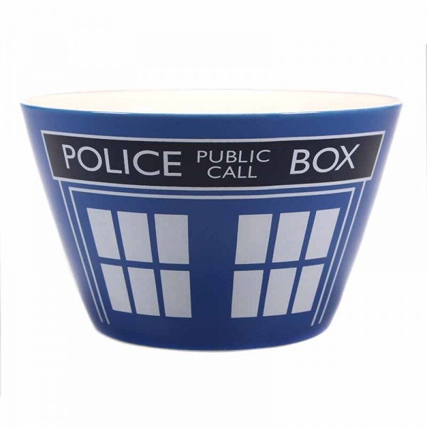 Bowl Dr. Who - Tardis