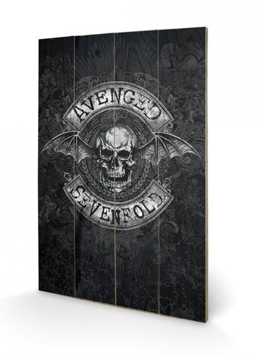 Poster su legno Avenged Sevenfold - Death Bat