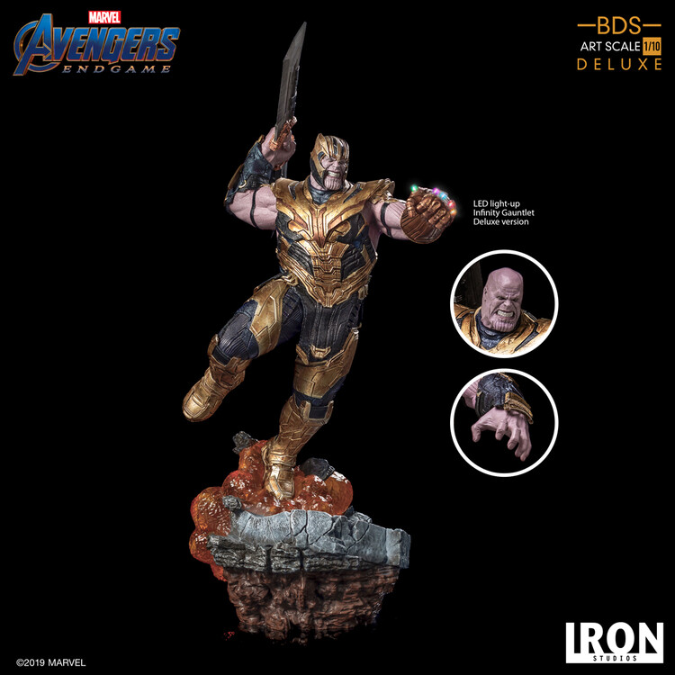 Φιγούρα Avengers: Endgame - Thanos (Deluxe)