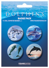 DOLPHINS Badges pakke