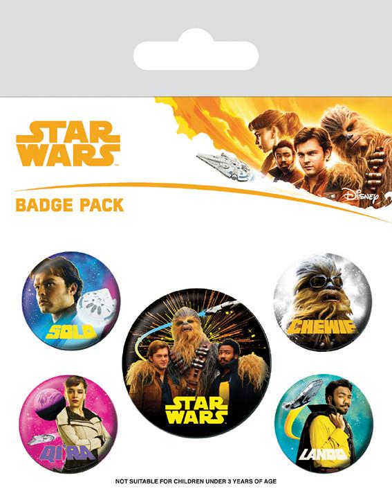 Solo: A Star Wars Story Badges pakke
