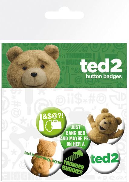 Ted 2 - Mix Badges pakke