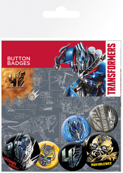 Transformers 4: Age of Extinction Badges pakke