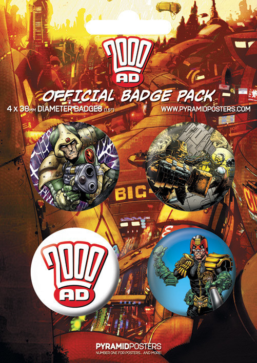 Badge 2000AD