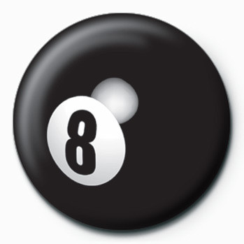 8 Ball Badge