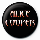 ALICE COOPER - logo Badges