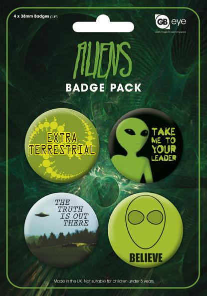 Badge ALIENS