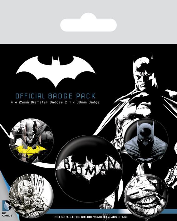 Badges Batman - Dark