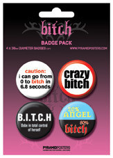 Badge BITCH