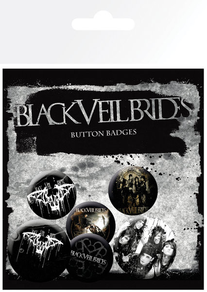Badges BLACK VEIL BRIDES