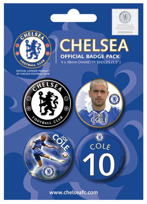 Badge CHELSEA - j. cole