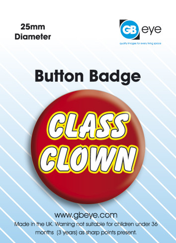 Class Clown Badge
