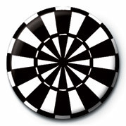 DART BOARD Badge