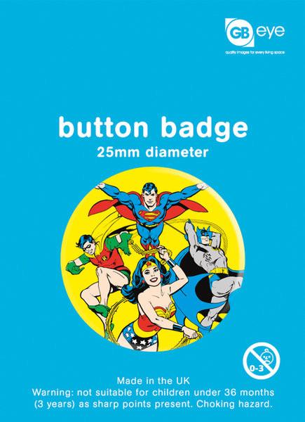 DC Comics - Heroes Badge
