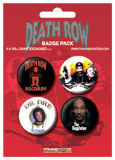 DEATH ROW RECORDS Badges