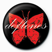 DEFTONES - BUTTERFLY Badges