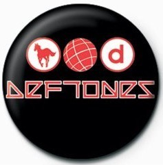 DEFTONES - LOGO Badge