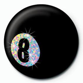 EIGHT BALL Badge