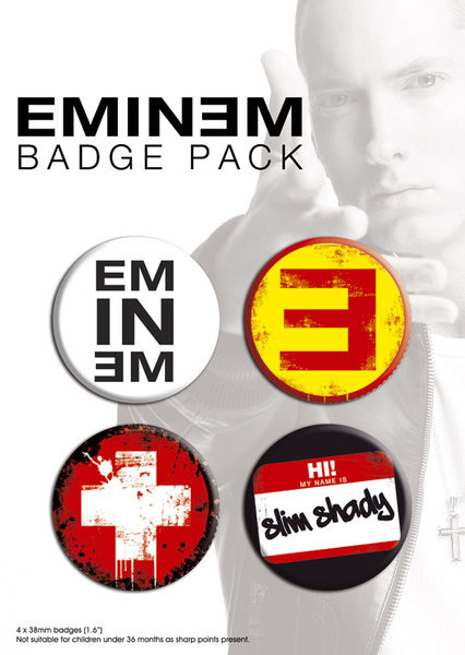 Badges EMINEM