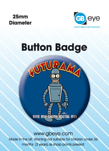 Futurama Bender Badge