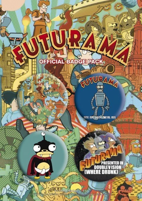 FUTURAMA Badges