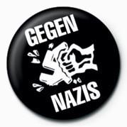 GEGEN NAZIS Badge
