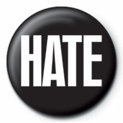 HATE Badge