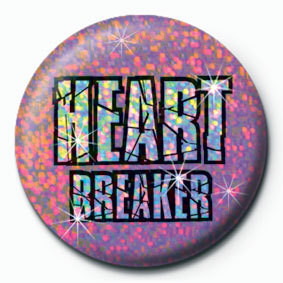HEART BREAKER Badge
