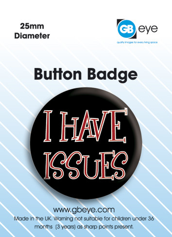 I have issues Badges
