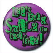 Lets put and smile Badge