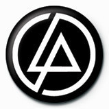 LINKIN PARK - circle logo Badges