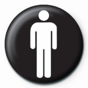 MALE SIGN Badge