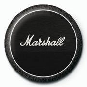 MARSHALL - black amp Badge