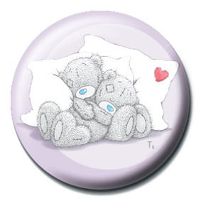 ME TO YOU - obejmout Badge