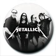 METALLICA - group Badge