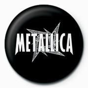 METALLICA - WHITE STAR Badge