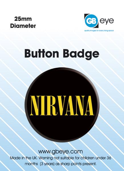NIRVANA - logo Badge