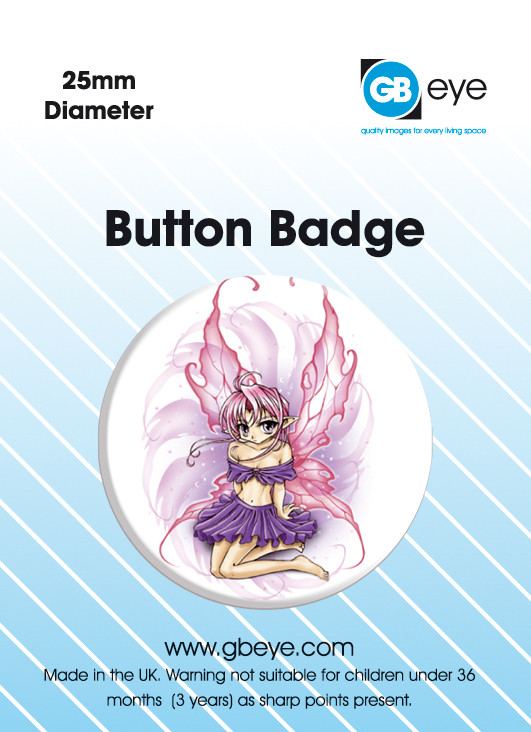 ODM BUBBLEGUM FAIRY Badges