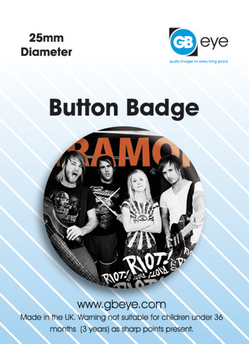 Paramore Band Badge