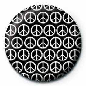 PEACE (MULTI) Badge