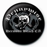 Pennywise - (Skull n bones) Badge