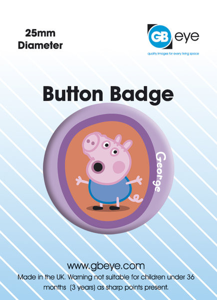 PEPPA PIG GEORGE Badge