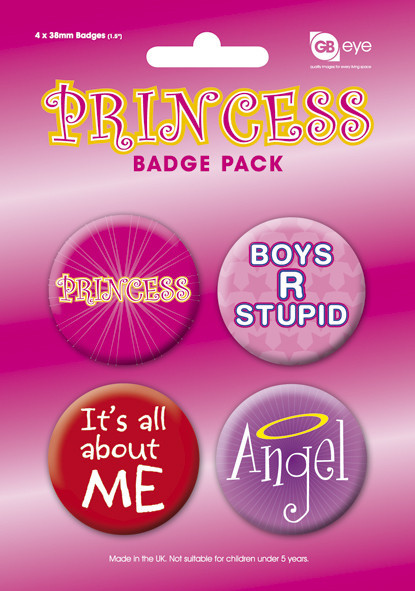 Badge PRINCESS