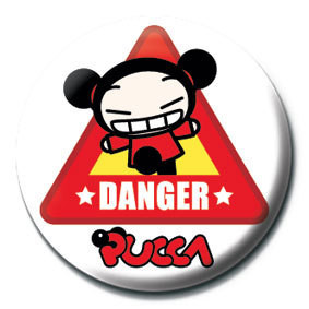 PUCCA - danger Badge