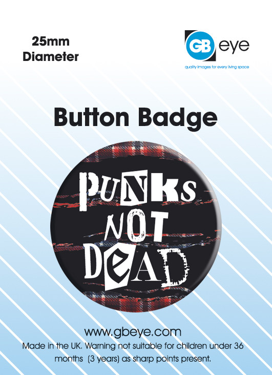 PUNKS NOT DEAD Badges