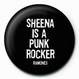 RAMONES - Sheena Badge