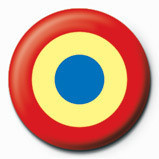 RED TARGET Badge